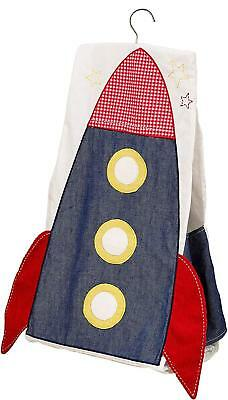 Suncrest Nappy Stacker Blue Rocket Boys Nappies Babies Fetch the Engine Space