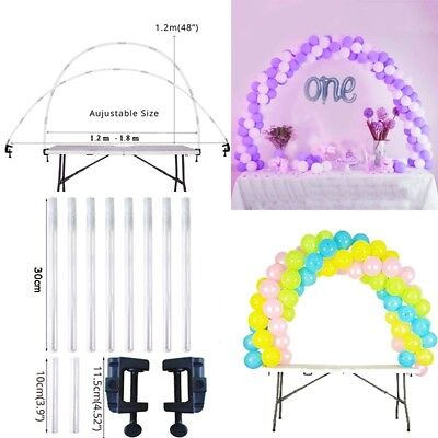 Balloon Arch Kit Balloons Column Stand Base Wedding Birthday Party Decoration