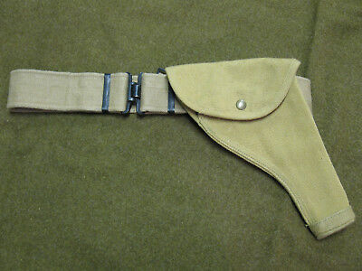 WW2 British Webley holster and belt