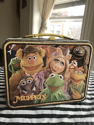Muppets Jim Henson Lunch Box King Seely Thermos Co. 1979 No Thermos Kermit