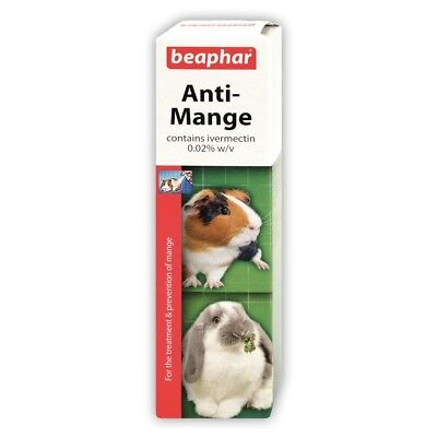 Beaphar Anti Mange Spray for Rabbits and Guinea Pigs 75ml *SAMEDAY DISPATCH*