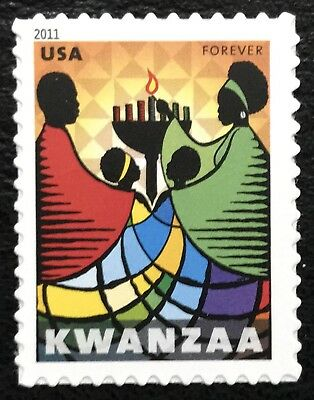 2011 Scott #4584 - Forever - KWANZAA - FAMILY CELEBRATE - Single Stamp - Mint NH