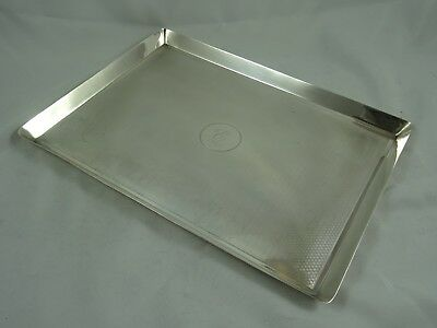 LARGE, ART DECO  solid silver DRESSING TABLE TRAY, 1916, 433gm