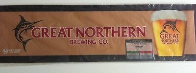 Great Northern Brewing Co Beer Bar Mat/runner New In Plastic