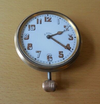 Antique, Swiss, Brevet 33236, 8 Day Pocket Watch from 1917 Perfect Working Order