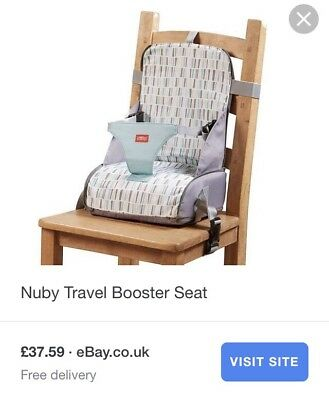 BNWT Nuby Travel Booster Seat