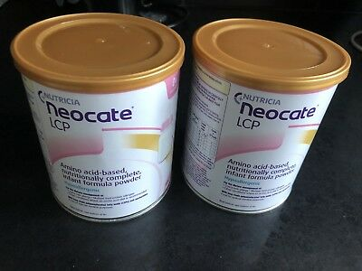 2x Neocate LCP expires January 2020- Brand new