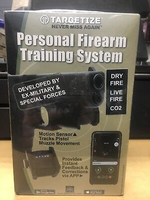 Targetize Firearms Training System Live/Dry Fire, CO2 (Rail Mounted)