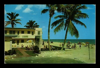 Dr Jim Stamps Us Belaire Apartment Hotel Hollywood Florida Chrome View Postcard