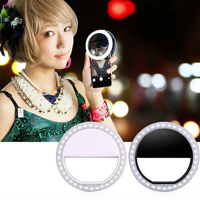 LOT Selfie LED Ring Fill Light Camera Photography For IPhone Android Phone ZSE1
