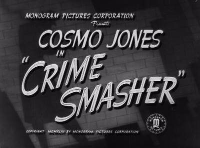 16mm Film Cosmo Jones in the Crime Smasher (1943) Edgar Kennedy & Gale Storm PD
