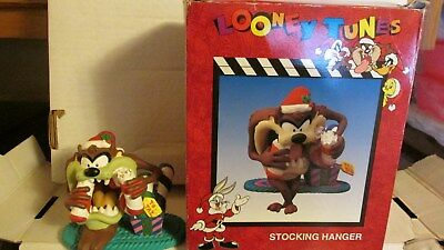 Tasmanian Devil  Christmas  Stocking Holder  Vintage and rare