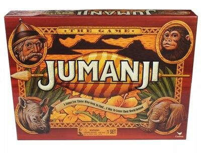 JUMANJI The Game Board - Family Action Board Game for Kids! Xmas Christmas Gift