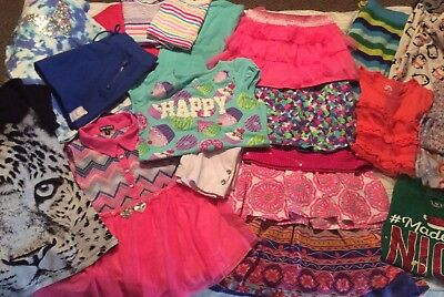 Little Girls 7/8, Super Cute Lot Of Assorted Clothes!