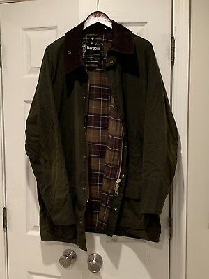 Classic Beaufort Barbour Wax Jacket, Size 52 Or XXL