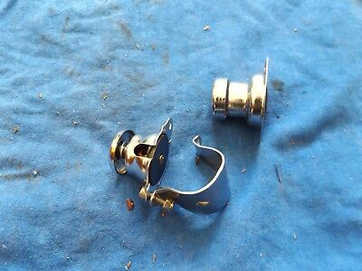 Vintage Bsa Triumph Norton Ariel Ajs Motorcycle Lucas ? Horn Buttons Switch
