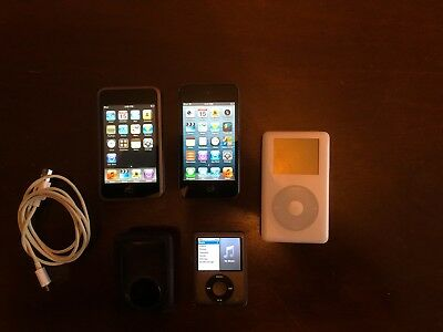 iPod LOT Models A1099 20GB, A1236 8GB, A1213 8GB, A1367 8GB! SEE DESCRIPTION!!