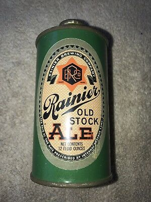 Rainier Old Stock Ale Cone Top Can