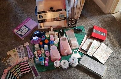 Craft / Card Making Supplies Punches, Paper, Ribbons, Peel-offs, Craft Studio CD