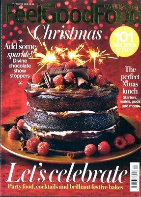 Woman & Home Feel Good Food Christmas Magazine Winter 2018 ~ New ~