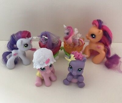 My Little Pony G3.5 Toy Bundle, Newborn Cuties Starsong Toola Roola, Breezies