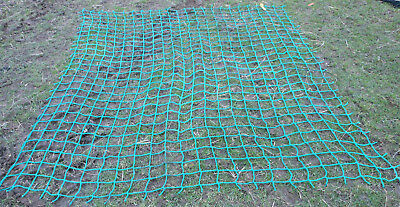 8x6ft Strong HEAVY DUTY cargo rope net 4trailer flatbed pickup skip load safety