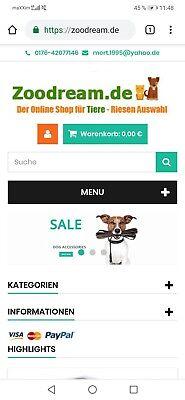 zoodream.de Dropshipping ProjektSEO optimiert