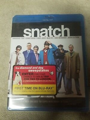 Snatch Blu Ray Movie Sealed and New NIB