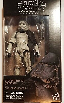 "Star Wars Black Series STORMTROOPER (MIMBAN) 6"" Action Figure Lot# EB62"