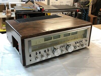 Sansui G 9000  NEW Case made of SOLID Claro Walnut Wood