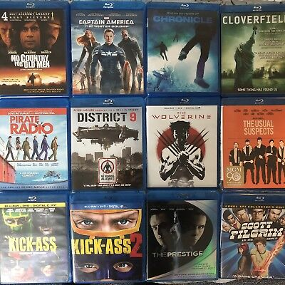 Scott Pilgrim Wolverine The Prestige 12 Disc Blu-Ray Collection