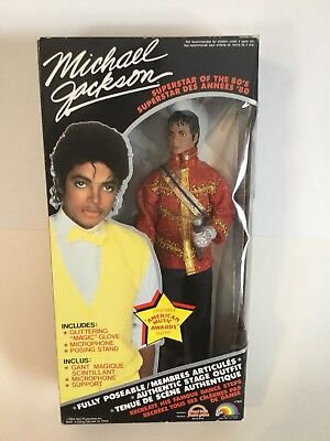 Micheal Jackson Superstar of the 80's doll 1984