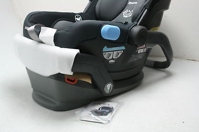 2018 UPPAbaby MESA Infant Car Seat Jake Secure System Installs In Seconds Black