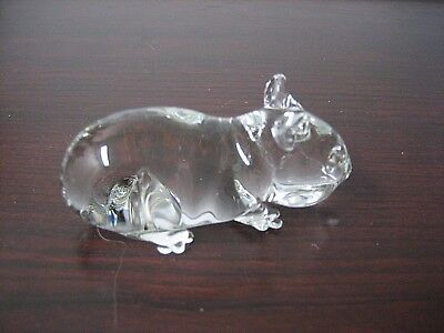 Little Glass Hamster Collectible Figurine  ~ ~  Great for any Hamster Lover!!!