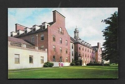 Postcard Athens GA University of Georgia Myers Hall Freshmen Women's Dorm *9027