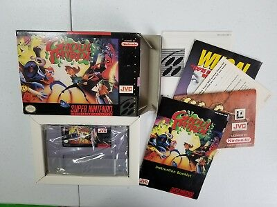 "Ghoul Patrol (Super Nintendo/SNES) Complete ""Zombies Ate My Neighbors"" Sequel"