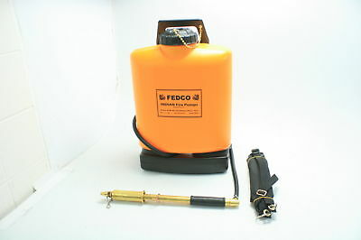 Fedco FER501 UV Resistant Poly Tank Rust Free Sturdy Brass Fire Pump 5-Gallon