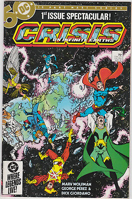 Crisis on Infinite Earths     # 1       1985       NM-
