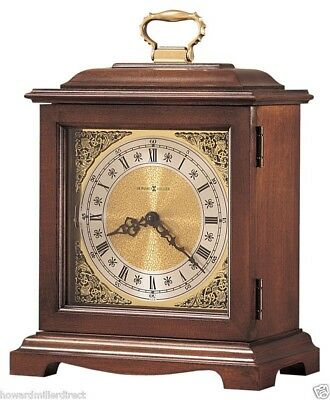 Howard Miller 612-588 Graham Bracket lll - Cherry Bracket Style Mantel Clock