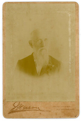 RARE Unknown Hot Springs AR Photographer * ID'ed Subject * June 16, 1897