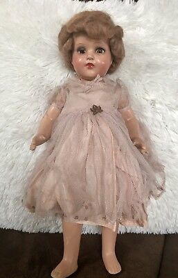 "Vintage Antique Bisque German 17"" Doll  - part of my 84 year old aunt's estate"