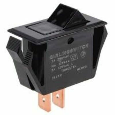 Bunn 01063.0000 Black Momentary Switch
