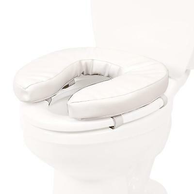 Raised Toilet Seats Vinyl Foam Toilet Seat Cushion Padded Cover 5cm