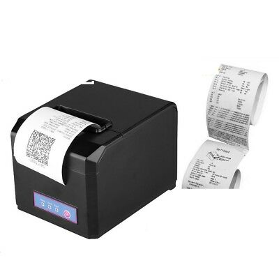 80mm ESC POS Thermal Receipt Printer Auto Cutter USB Network Ethernet High Speed