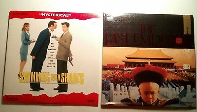 Factory sealed lot of 19 mainstream movies on laserdisc