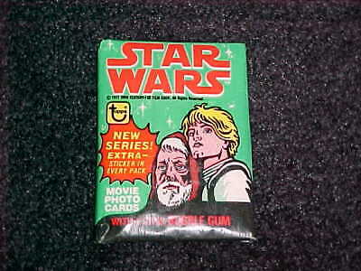 (1) Vintage 1978 Topps Star Wars 4th Series Factory Sealed Unopened Wax Pack VF+