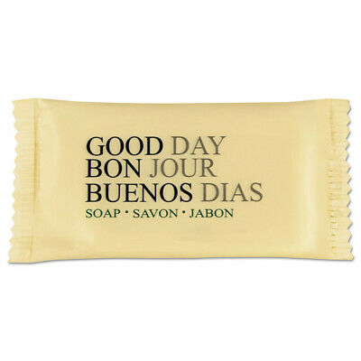 Good Day Amenity Bar Soap, Pleasant Scent, 3/4 Oz, 1000 Per Carton  390075A New