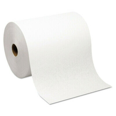 Georgia-Pacific Hardwound Paper Towel Nonperforated White 6Rolls/ctn 26470 NEW