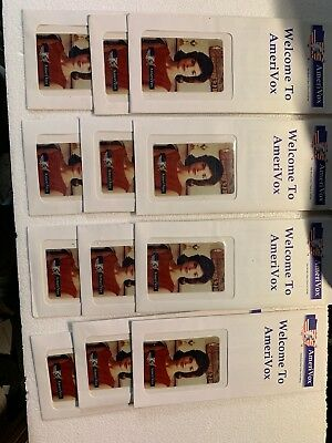 Amerivox 12 Pack Of Jackie O Collectors Phone Card - New In Envelope