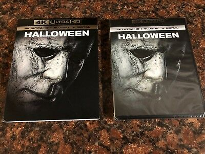 Halloween (2018, 4K Ultra HD + Blu-ray + Digital HD, NEW) Free Shipping